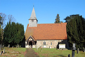 West End of Copford Church